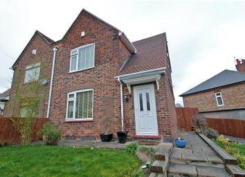 Thumbnail 3 bed semi-detached house for sale in Westdale Crescent, Carlton, Nottingham