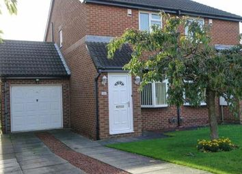 Thumbnail 2 bed semi-detached house to rent in Baltimore Way, Darlington