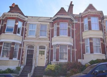 Thumbnail 4 bed terraced house for sale in Hamilton Gardens, Mutley, Plymouth