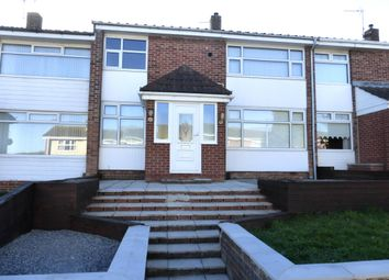 Thumbnail 3 bedroom terraced house to rent in Portmadoc Walk, Hartlepool