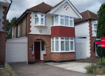 Thumbnail 3 bed detached house to rent in Landseer Road, Old Malden, Worcester Park