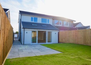 Thumbnail 3 bed semi-detached house for sale in Heol Y Sheet, Broadlands, North Cornelly