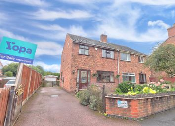 3 bed semi-detached house for sale in New Road, Newhall, Swadlincote DE11