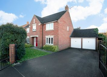 Thumbnail 4 bed detached house for sale in Valley Gardens Kingsway, Quedgeley, Gloucester