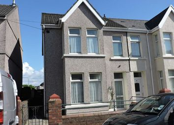 Thumbnail 3 bed semi-detached house for sale in Brighton Road, Gorseinon, Swansea