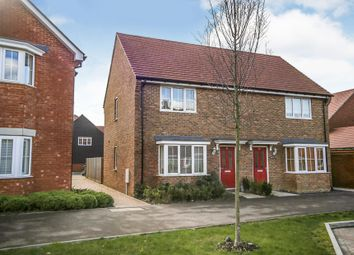 Thumbnail 2 bed semi-detached house for sale in Brambling Avenue, Finberry, Ashford