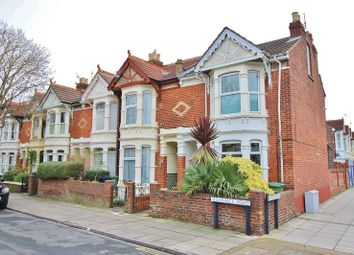 Thumbnail 2 bed flat for sale in Clovelly Road, Southsea
