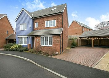 Thumbnail 5 bedroom detached house for sale in Chartwell Lane, Longfield