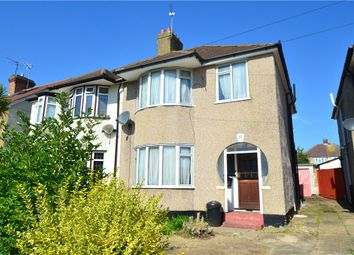 Thumbnail 3 bed semi-detached house for sale in West Mead, Ruislip, Middlesex