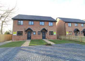 Thumbnail 3 bed semi-detached house for sale in Plot 7, Ash Grove, Wem, Shrewsbury