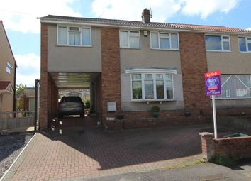 Thumbnail 4 bedroom semi-detached house for sale in Lacey Road, Stockwood, Bristol