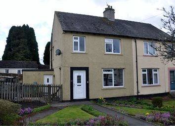 Thumbnail 3 bed semi-detached house for sale in The Firs, Alston, Cumbria.