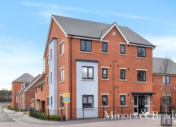 Thumbnail 2 bed flat for sale in Mallard Way, Sprowston, Norwich