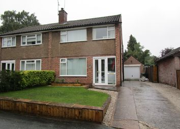Thumbnail 3 bed semi-detached house for sale in East Lane, Cuddington, Northwich