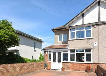 Thumbnail 3 bed semi-detached house for sale in The Drive, Feltham