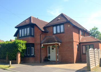 Thumbnail 4 bed detached house for sale in Rosebery Road, Epsom, Surrey