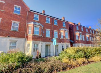 Thumbnail 4 bed town house for sale in Agincourt Road, Lichfield