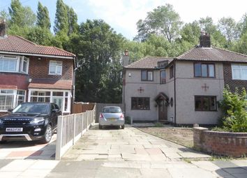Thumbnail 3 bed semi-detached house to rent in Banstead Avenue, Manchester