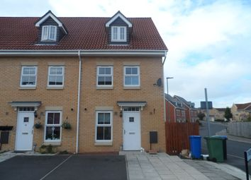 Thumbnail 3 bedroom town house for sale in Chillerton Way, Wingate