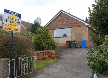Thumbnail 3 bed bungalow to rent in Lady Crosse Drive, Whittle-Le-Woods, Chorley