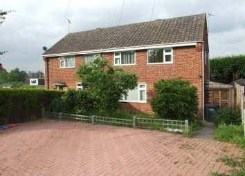 Thumbnail 3 bed semi-detached house to rent in Hawthorn Crescent, Findern, Derby
