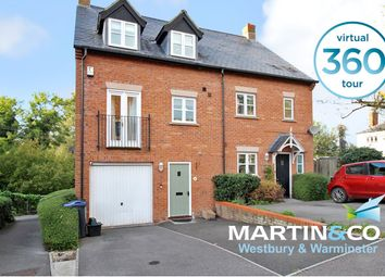 Bitham Mill, Westbury BA13. 3 bed semi-detached house for sale