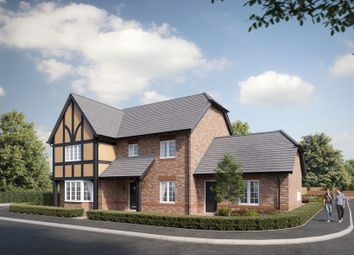 Thumbnail 5 bedroom detached house for sale in Lichfield Road, Kings Bromley, Burton-On-Trent