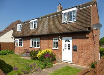Thumbnail 3 bedroom detached house for sale in Washingley Road, Folksworth, Peterborough
