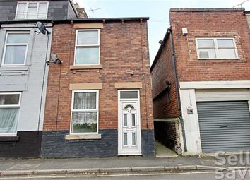 Thumbnail 2 bed end terrace house for sale in Chester Street, Brampton, Chesterfield, Derbyshire