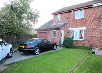 Thumbnail 3 bed semi-detached house for sale in The Sycamores, Burnopfield, Newcastle Upon Tyne