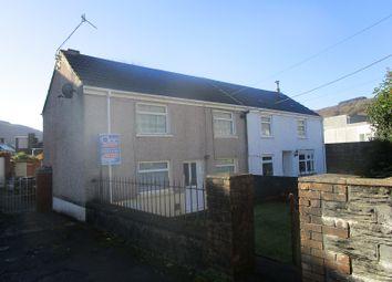 Thumbnail 3 bedroom semi-detached house for sale in St. Davids Road, Ystalyfera, Swansea.