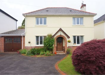 Thumbnail 4 bed detached house for sale in Rudry Road, Cardiff