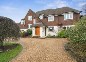Thumbnail 5 bed detached house for sale in Hawkshill Way, Esher, Surrey