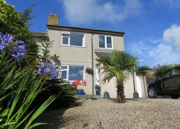 Thumbnail 3 bedroom semi-detached house for sale in Gurnick Road, Newlyn, Penzance