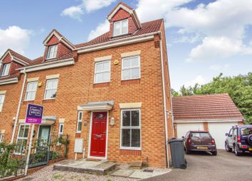 Melody Drive, Sileby, Loughborough LE12. 3 bed end terrace house for sale