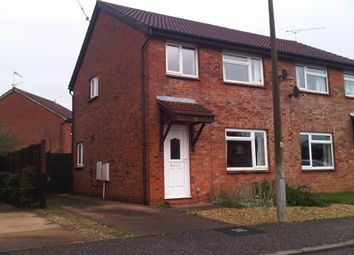 Thumbnail 3 bed semi-detached house to rent in Scott Close, Taunton