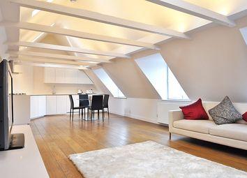 Thumbnail 2 bed flat to rent in Kensington Church Street, High Street Kensington, London