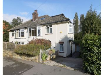 Thumbnail 4 bed semi-detached house for sale in Cherry Tree Road, Sheffield