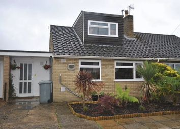 Thumbnail 3 bed semi-detached house for sale in Meadow Close, Hellesdon, Norwich