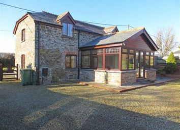 Thumbnail 2 bed barn conversion to rent in Broadwoodwidger, Lifton