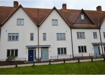 Thumbnail 4 bedroom terraced house to rent in Mill Pond Drive, Northampton