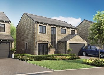 Thumbnail 4 bed detached house for sale in Pennine Gardens, Upperthong, Holmfirth