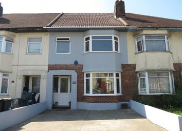 Thumbnail 3 bed terraced house for sale in Pine Road, Winton, Bournemouth