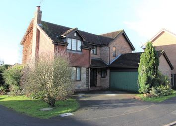 Thumbnail 4 bed detached house for sale in Fieldgate Drive, Oakwood, Derby