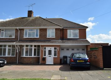 Thumbnail 5 bedroom semi-detached house for sale in Earlswood Road, Evington, Leicester