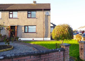 Thumbnail 3 bed semi-detached house for sale in Gledhill Crescent, Locharbriggs, Dumfries, Dumfries And Galloway.