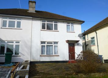 Thumbnail 3 bed semi-detached house to rent in Harcourt Avenue, Edgware