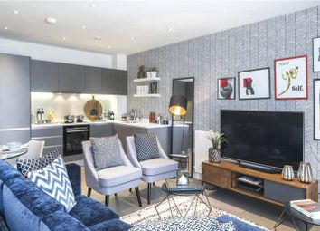 Thumbnail 2 bedroom flat for sale in Bruckner Street, London