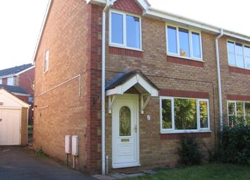 Thumbnail 3 bedroom semi-detached house to rent in Teawell Close, The Rock, Telford.