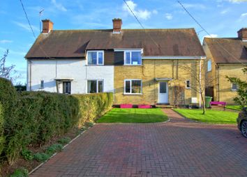 Thumbnail 3 bed semi-detached house for sale in Button End, Harston, Cambridge